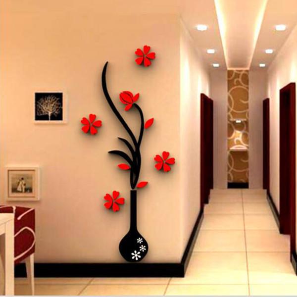 استیکر مدل گل و گلدان کد  2021