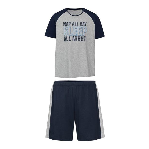 ست تی شرت و شلوارک مردانه لیورجی مدل p100256129