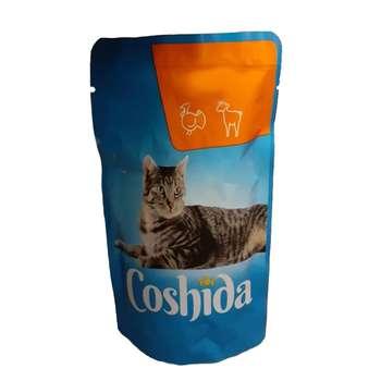 پوچ گربه کوشیدا مدل turky & lamb وزن 100گرم