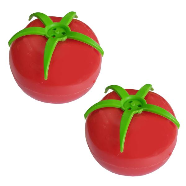 نمکدان طرح گوجه فرنگی کد NGF 01 بسته 2 عددی