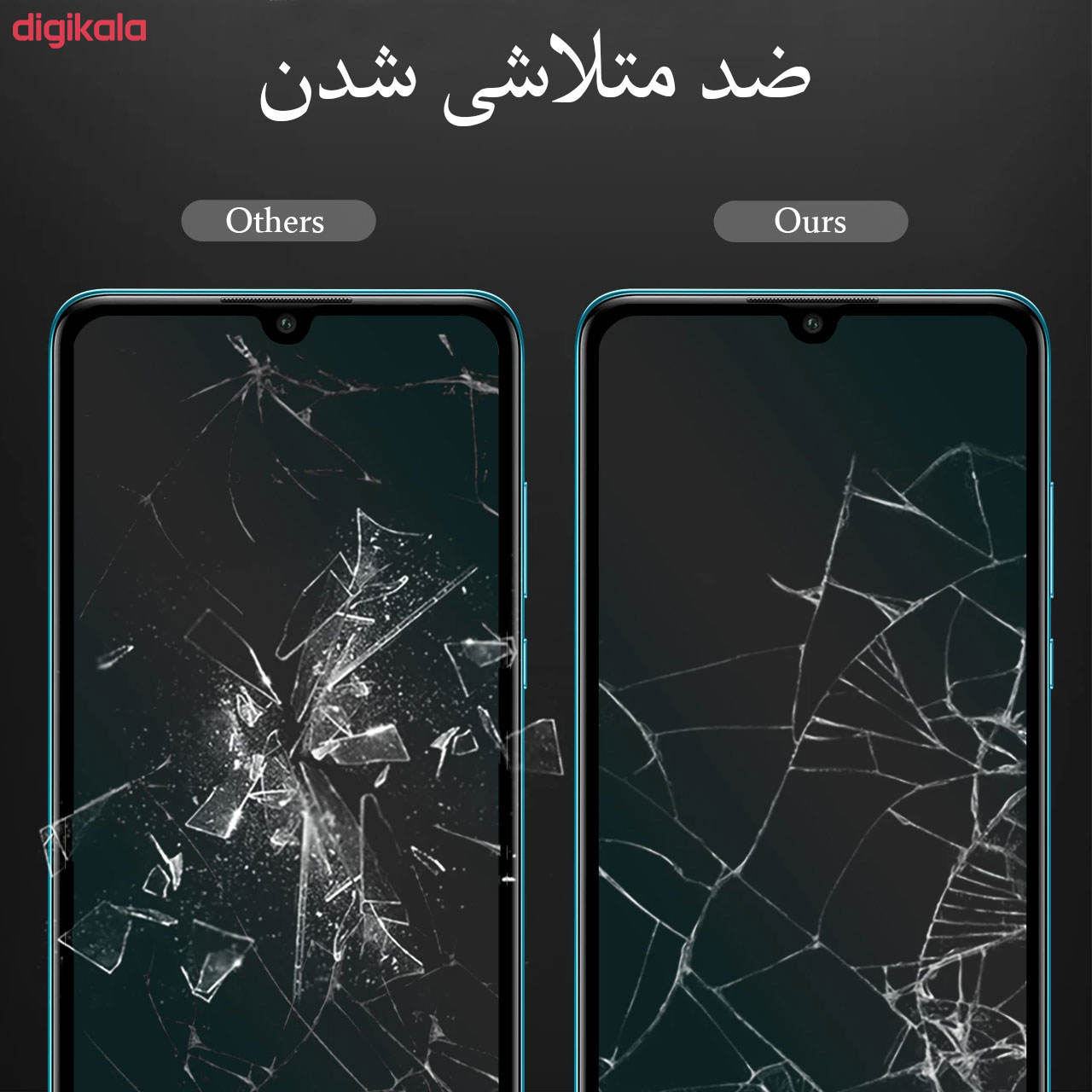 محافظ صفحه نمایش مدل FCG مناسب برای گوشی موبایل سامسونگ Galaxy M20 main 1 5