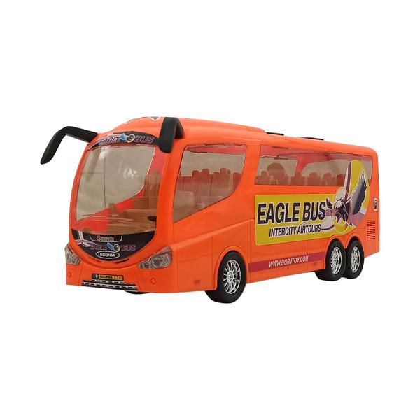 ماشین بازی مدل اتوبوس کد RM76