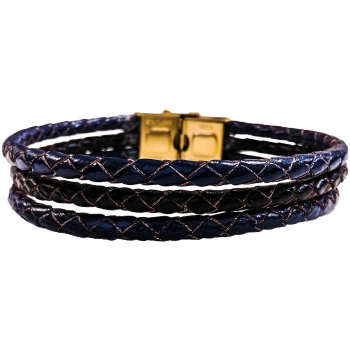 دستبند چرم وارک مدل دایان کد rb353