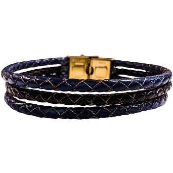 دستبند چرم وارک مدل دایان کد rb355