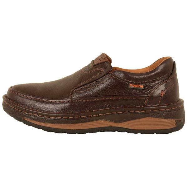 کفش روزمره مردانه پارینه چرم مدل sho188-7
