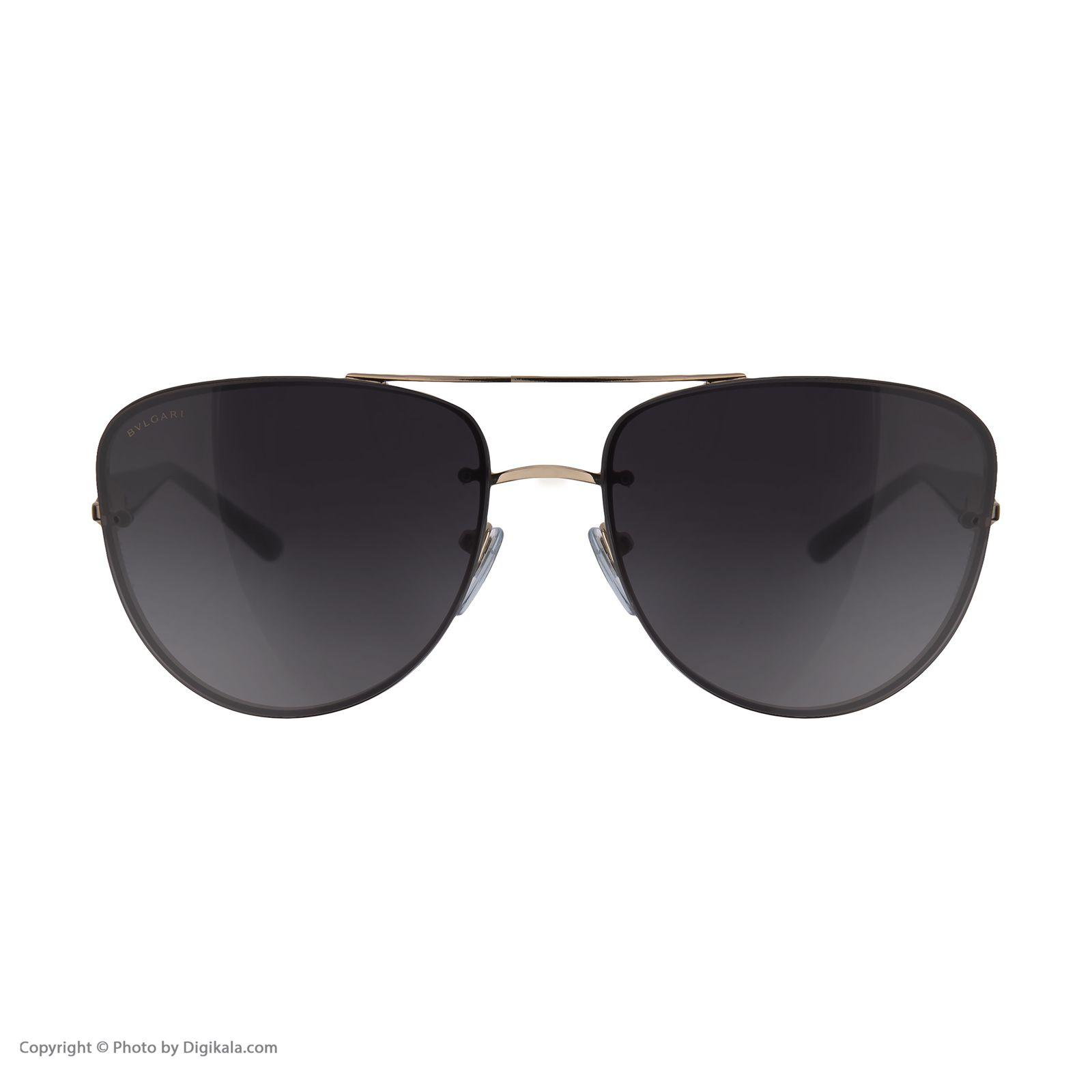 عینک آفتابی مردانه بولگاری مدل BV6086B 20148G -  - 3