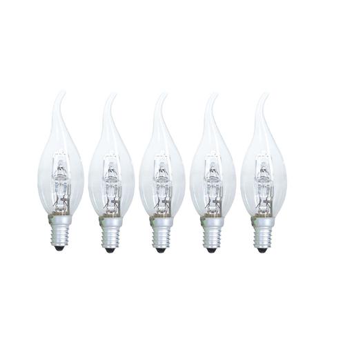 لامپ اشکی 28 وات پارس شهاب مدل A5 پایه E14 بسته 5 عددی