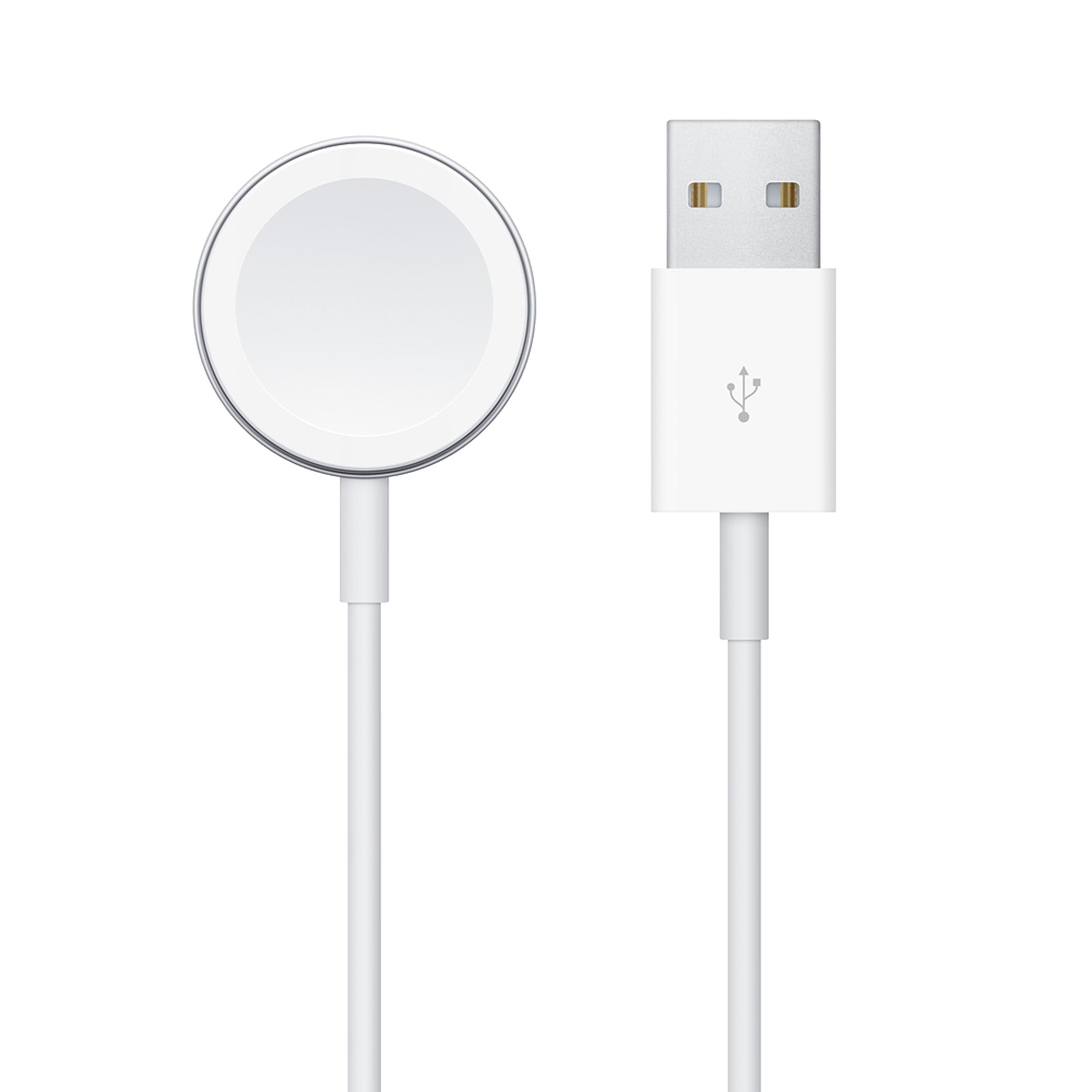 کابل شارژ اپل مدل MX2F2AM مناسب برای ساعت هوشمند اپل Apple Watch 1 to 5 Series