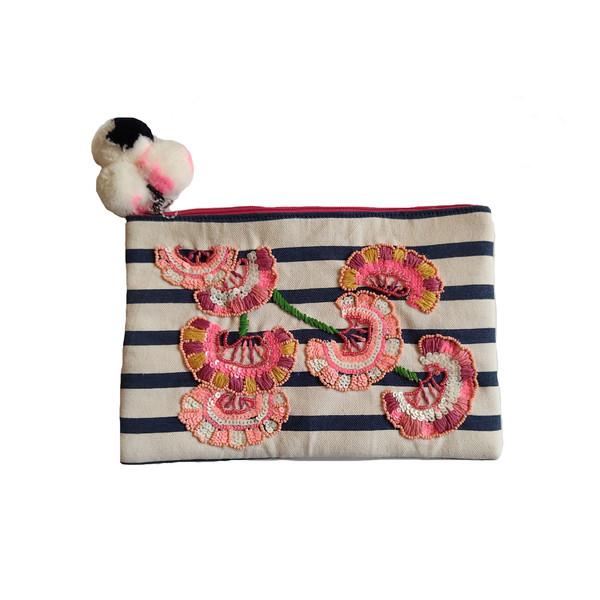 کیف لوازم آرایش دخترانه جی بی سی مدل lan555