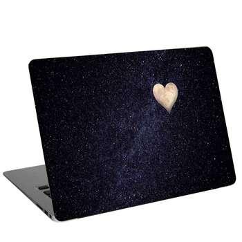 استیکر لپ تاپ طرح heart moon night sky کد cl-293 مناسب برای لپ تاپ 15.6 اینچ