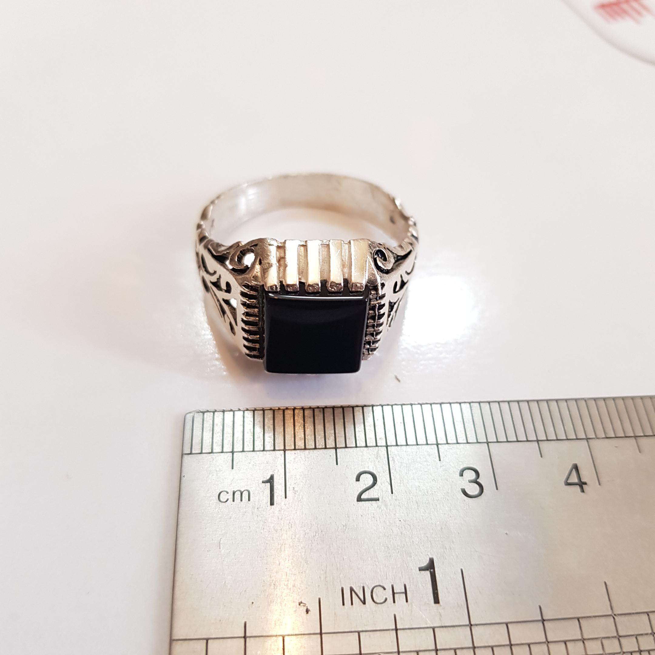 انگشتر نقره مردانه سلین کالا مدل ce-gha-an48