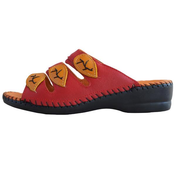 دمپایی زنانه کفش آداک کد 105 رنگ قرمز