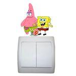 استیکر مستر راد طرح باب اسفنجی و پاتریک کد 001 SpongeBob