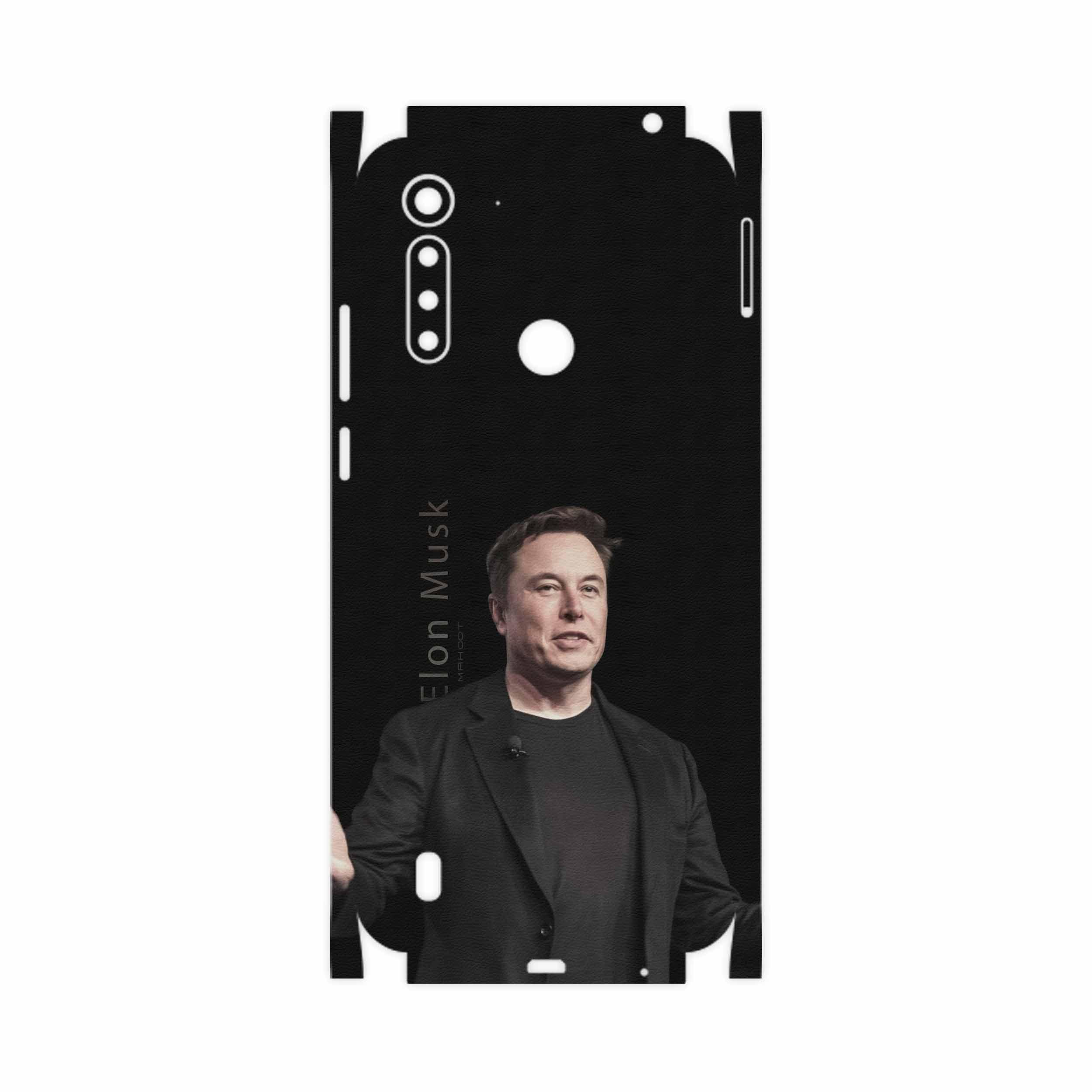 برچسب پوششی ماهوت مدل Elon Musk-FullSkin مناسب برای گوشی موبایل موتورولا Moto G8 Power Lite