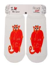 جوراب دخترانه فیلاردی طرح گربه عاشق -  - 1