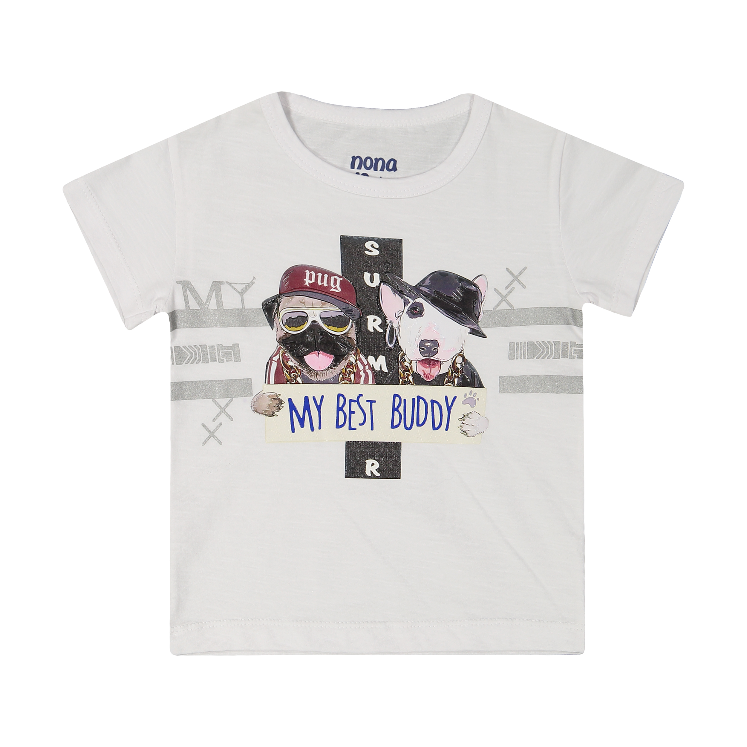 تی شرت پسرانه نونا مدل 2211113-01