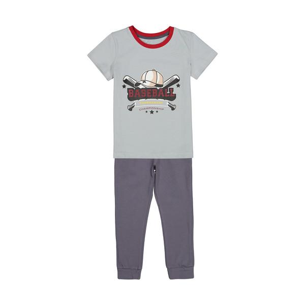 ست تی شرت و شلوار پسرانه ناربن مدل 1521302-93