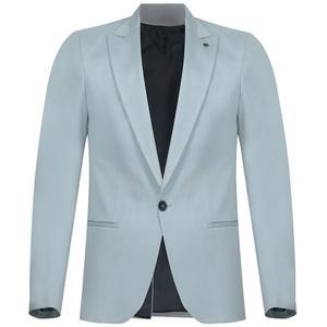 کت تک مردانه مدل K-AB-Y رنگ آبی یخی