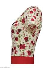 ست تی شرت و شلوارک زنانه کد 002 -  - 3