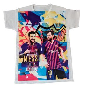 تی شرت پسرانه مدل مسی کد 2