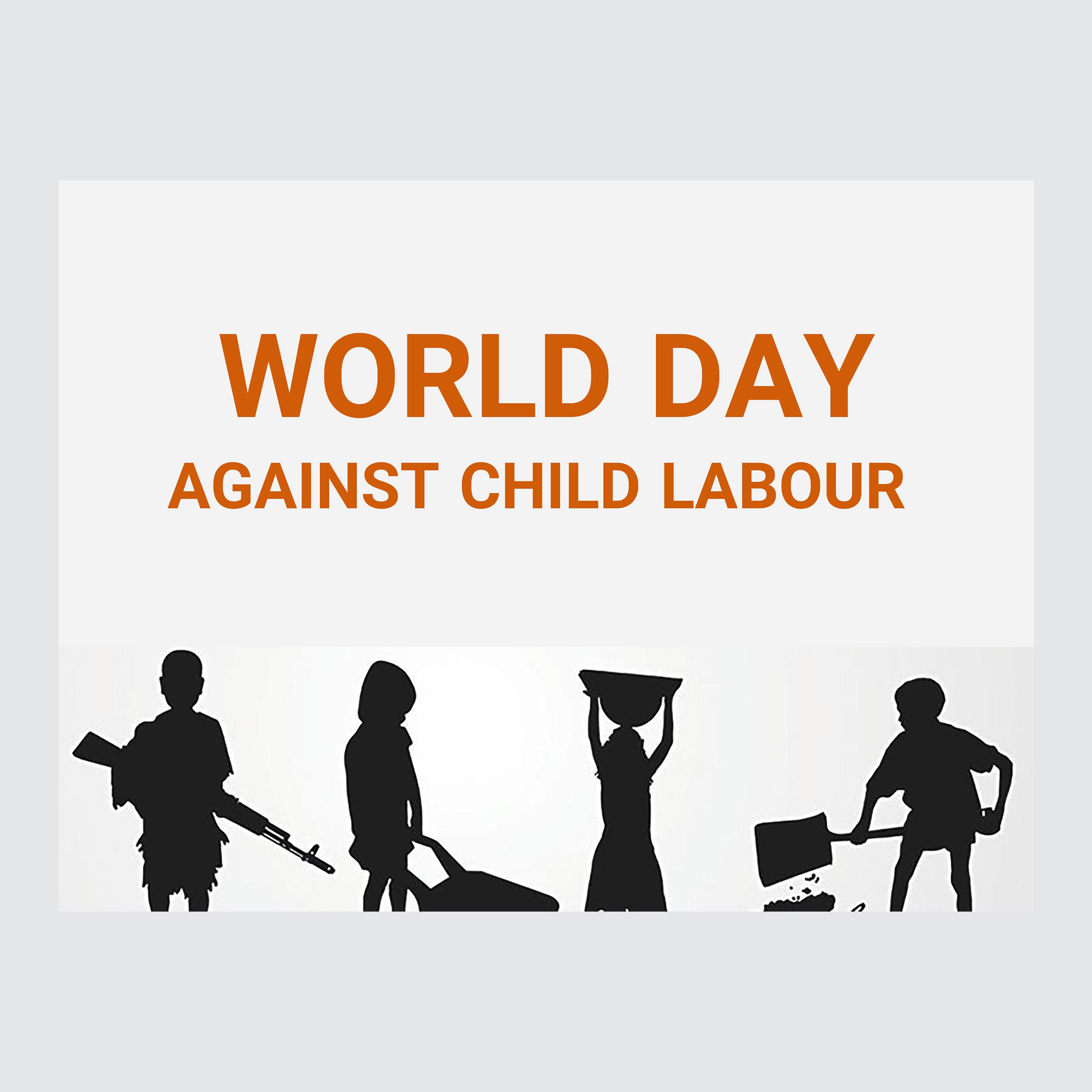 کارت پستال ماهتاب طرح روز مبارزه با کار کودکان کد 2423