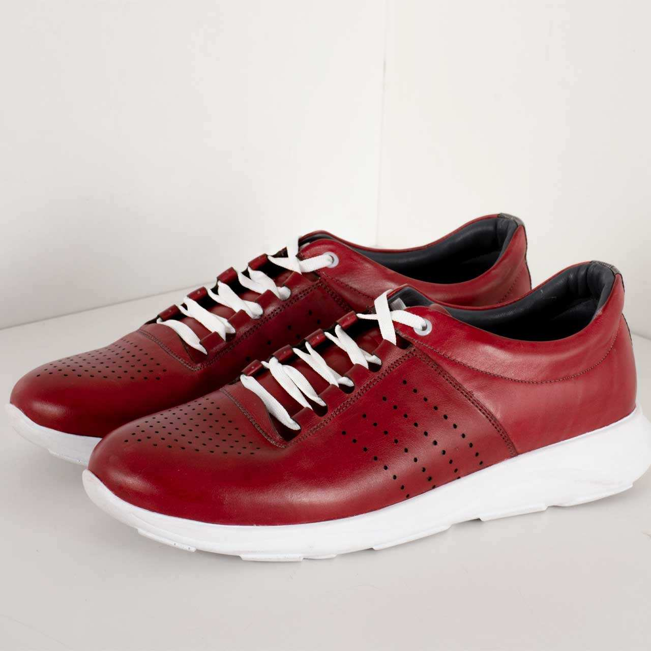 کفش روزمره مردانه پارینه چرم مدل SHO176-2 -  - 3