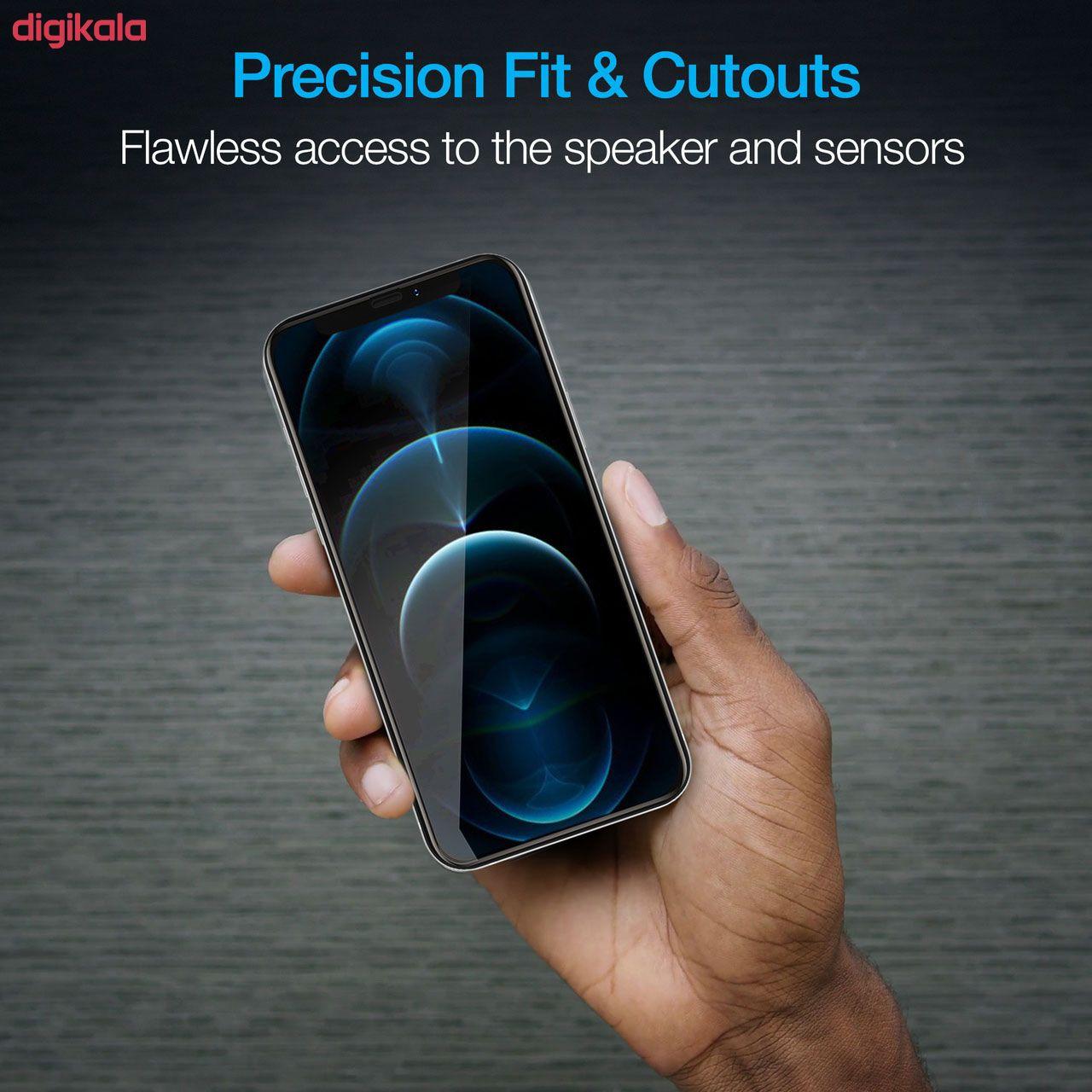 محافظ صفحه نمایش مدل FCG مناسب برای گوشی موبایل اپل iPhone 12 mini بسته دو عددی main 1 16