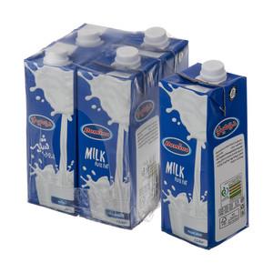 شیر پرچرب دومینو - 1 لیتر بسته 4 عددی
