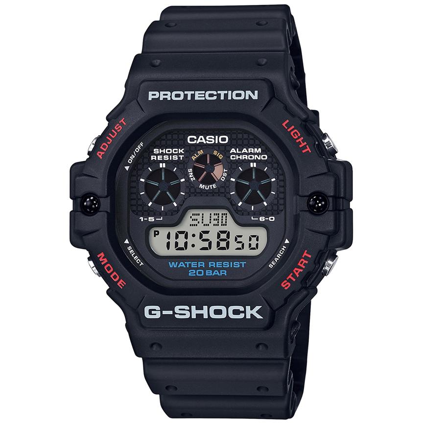 ساعت مچی دیجیتال مردانه کاسیو مدل جی شاک کد DW-5900-1DR              👙