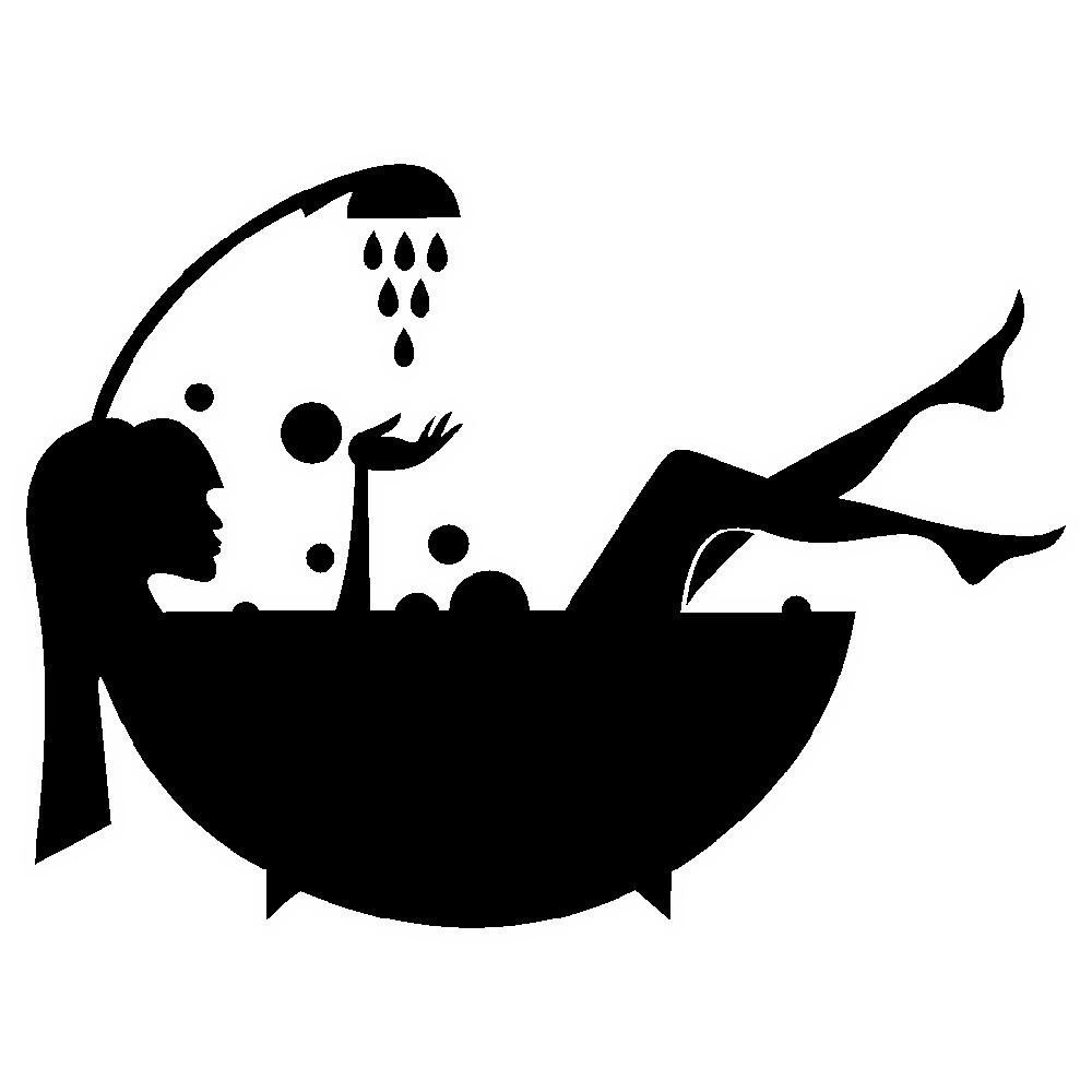 استیکر فراگراف کلید و پریز FG طرح حمام کد 007