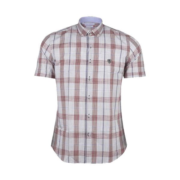 پیراهن آستین کوتاه مردانه ال آر سی مدل 1904w