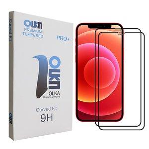 محافظ صفحه نمایش الکا مدل +PRO مناسب برای گوشی موبایل اپل Iphone 12ProMax بسته دو عددی