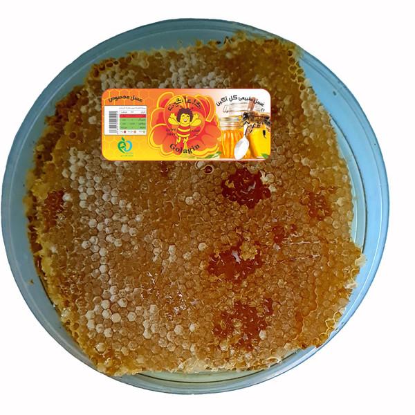عسل موم دار چهل گیاه گل آگین - 1800 گرم