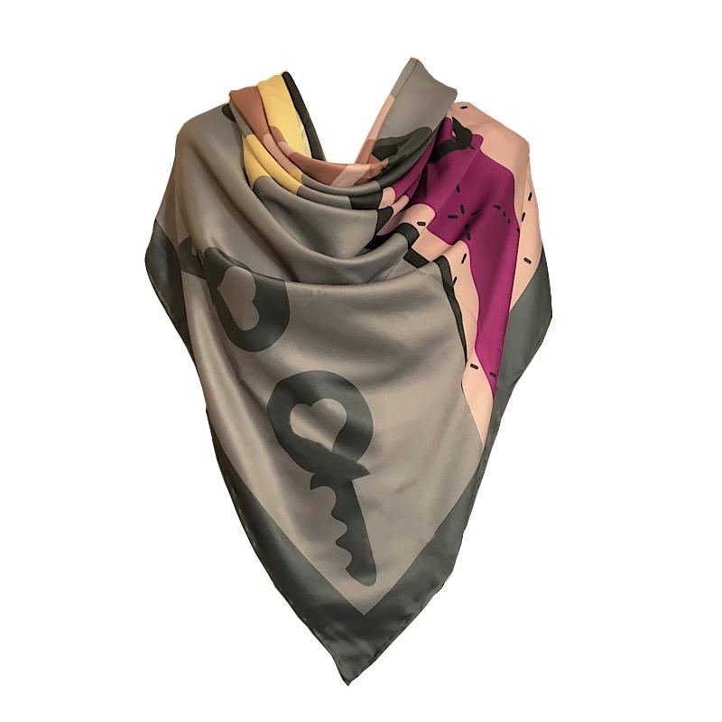 روسری زنانه لیدی برند بوتیک مدل VLT9007