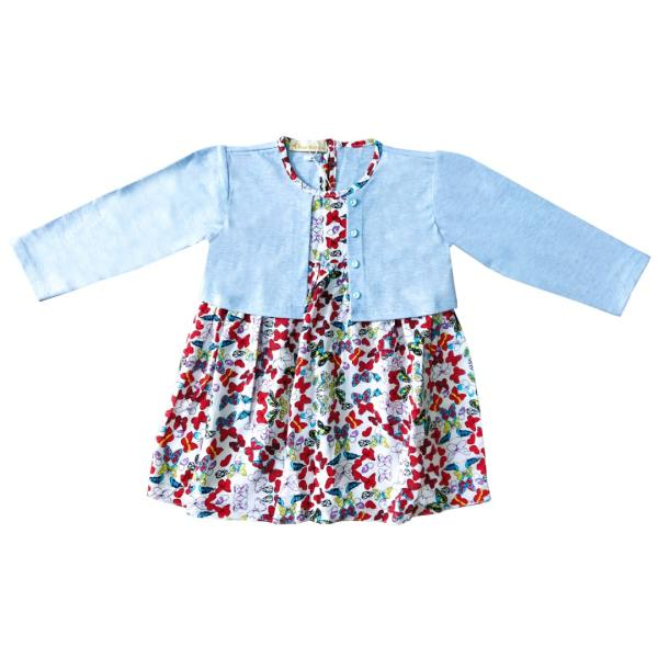 پیراهن دخترانه استارکیدز کد B001101