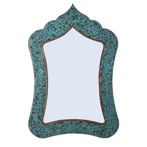 آینه فیروزه کوبی آقاجانی کد F033