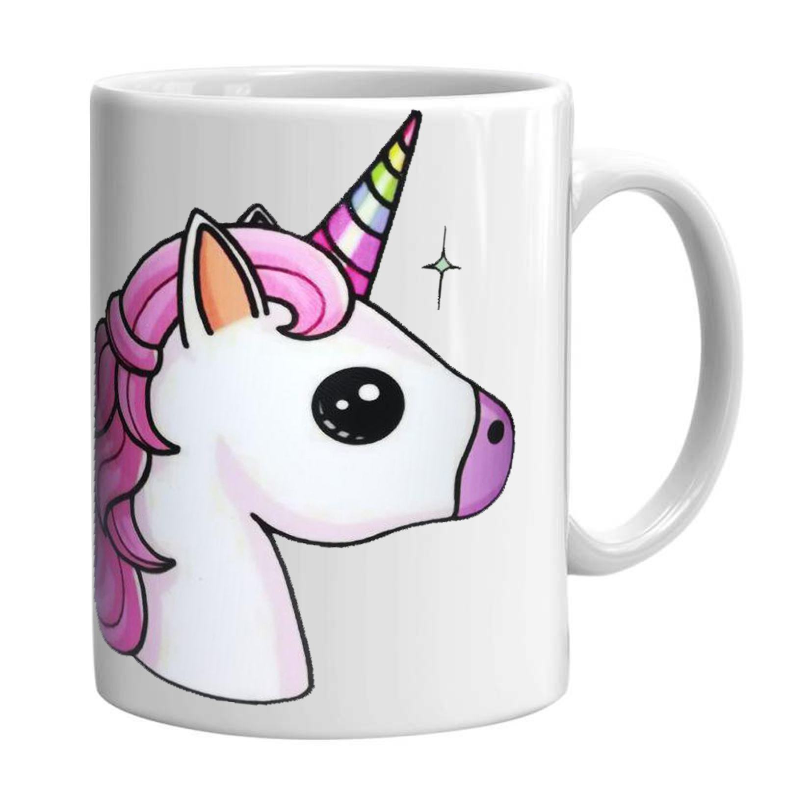 ماگ طرح unicorn مدل اسب تک شاخ کد 3872