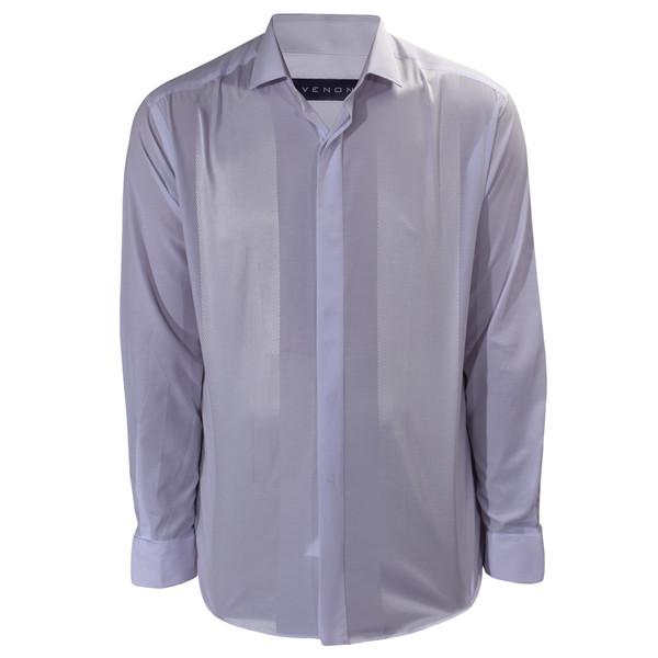 پیراهن آستین بلند مردانه ونورا کد 7019PRT-3