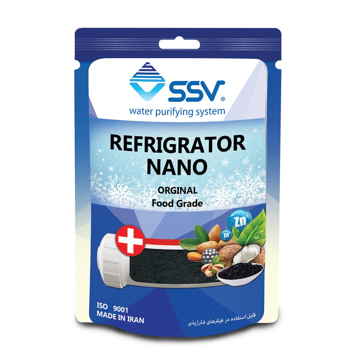 شارژ  فیلتر دستگاه تصفیه کننده آب اس اس وی مدل RNS-2500G وزن 140 گرم