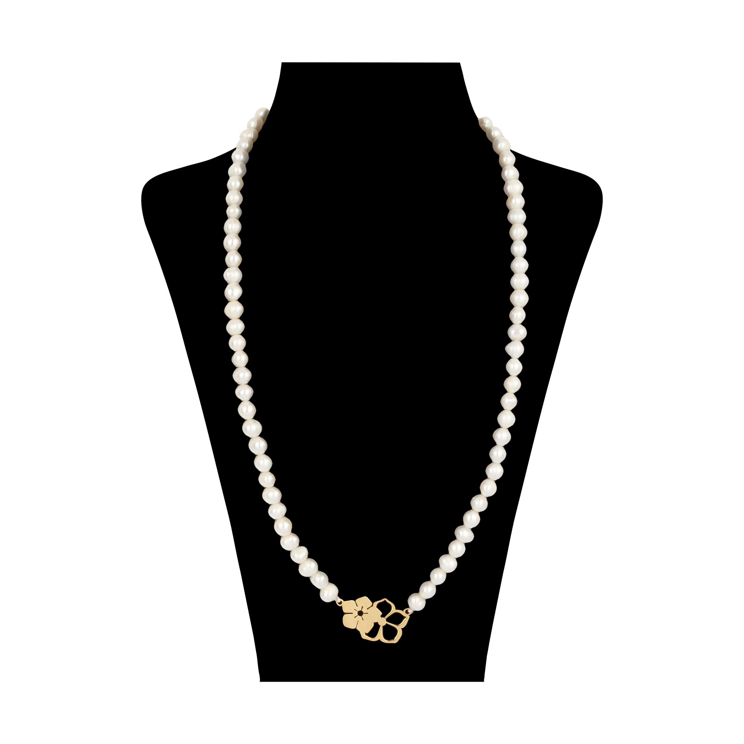 گردنبند طلا 18 عیار زنانه میو گلد مدل GD621