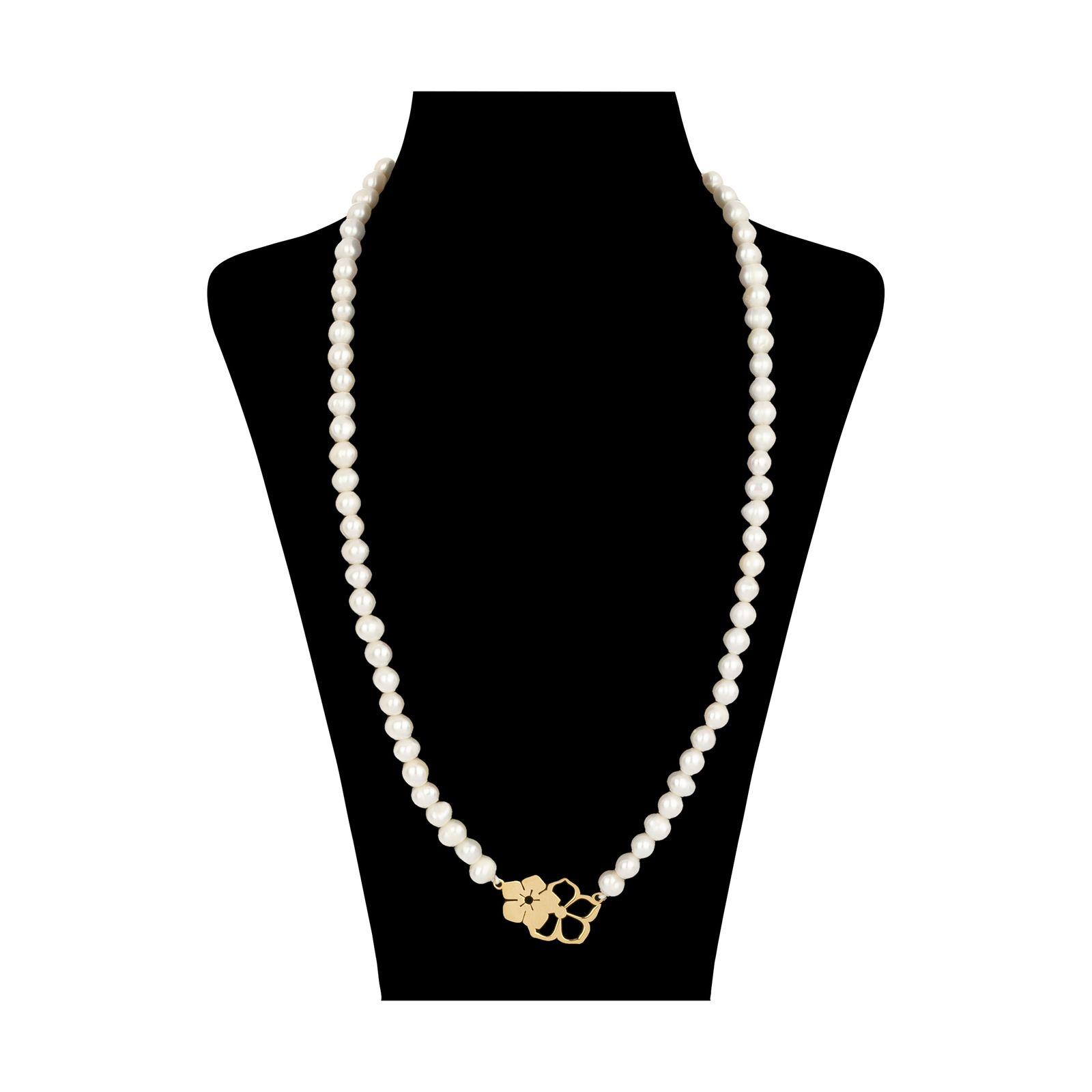 گردنبند طلا 18 عیار زنانه میو گلد مدل GD621 -  - 2