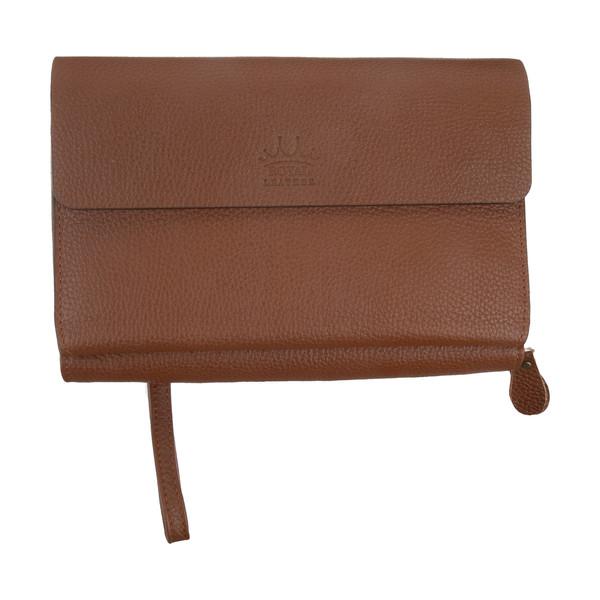 کیف دستی مردانه رویال چرم کد P18