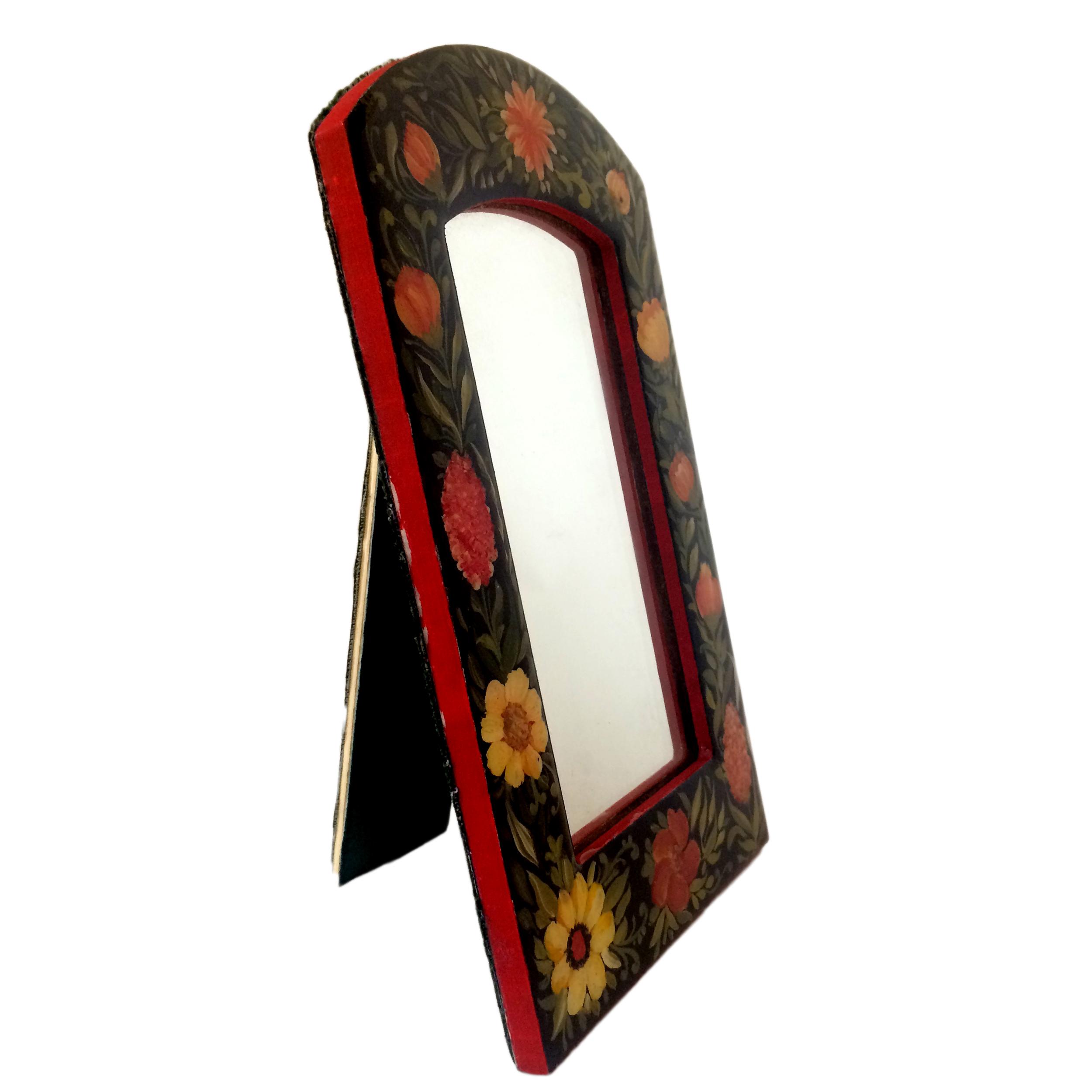 خرید                      آینه مدل گل و مرغ کد 004