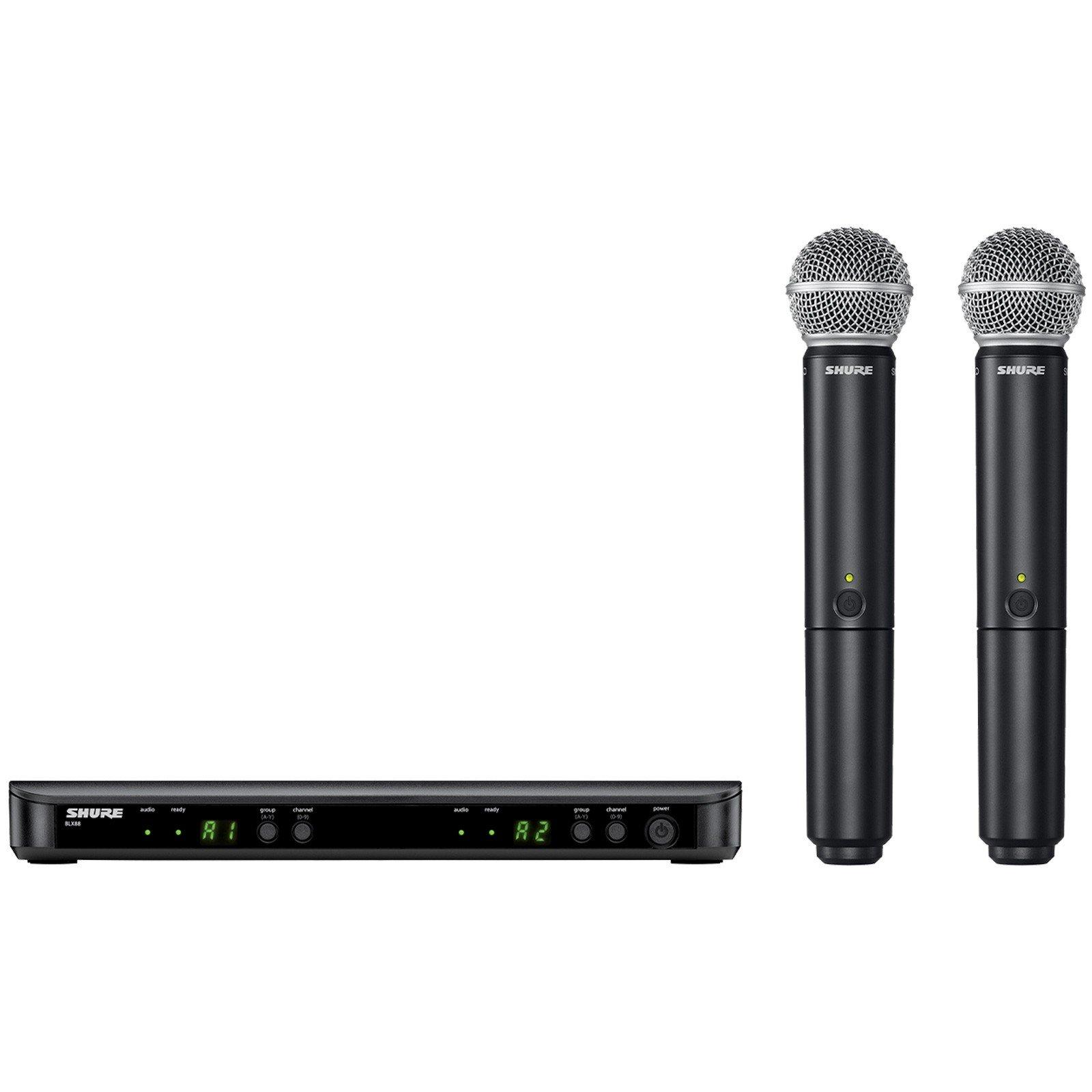 ست میکروفن بی سیم شور مدل BLX88/Beta58