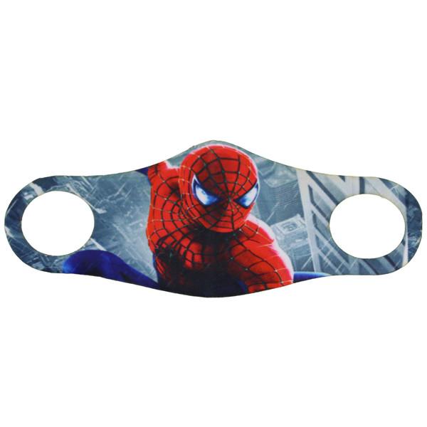ماسک تزیینی صورت بچه گانه طرح مرد عنکبوتی مدل 004