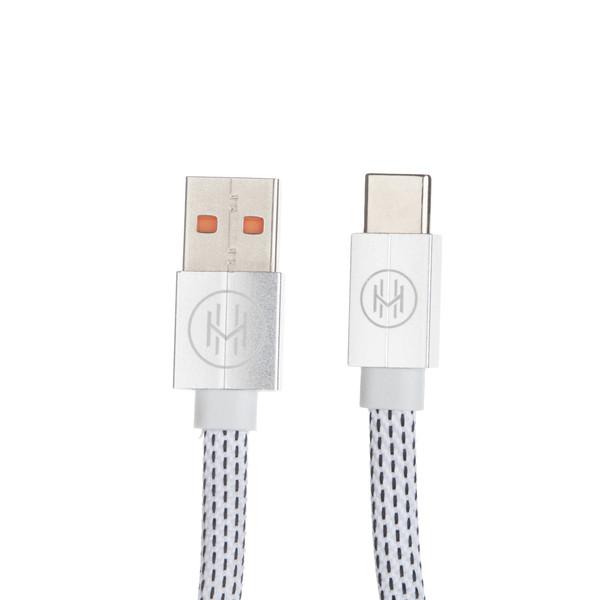کابل تبدیل USB به USB-C اچ اند ام مدل C04 طول 0.2 متر