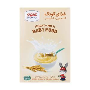 غذای کودک گندمین با شیر غنچه - 250 گرم
