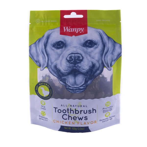 غذای تشویقی سگ ونپی مدل toothbrush وزن 100 گرم