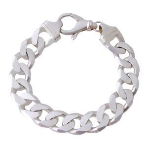 دستبند نقره مردانه بازرگانی میلادی کد DP_296