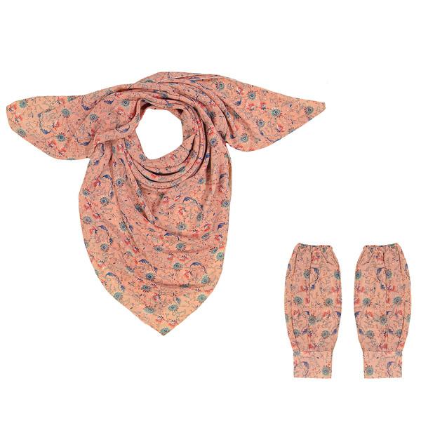 ست روسری و ساق دست زنانه گالری شمرون مدل SCA146PB